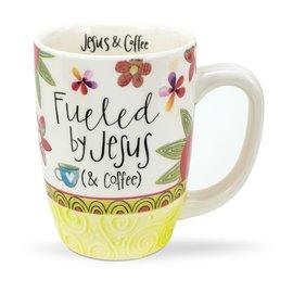 Mug - Fueled by Jesus