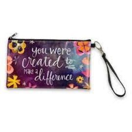 Zippered Bag - You were Created to Make a Difference
