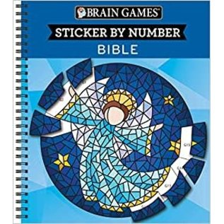 Brain Games - Sticker By Number, Bible