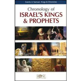 Chronology of Israel's Kings & Prophets Pamphlet