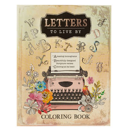 Coloring Book - Letters to Live By