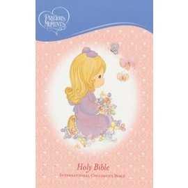 ICB Precious Moments Bible, Pink Leathersoft
