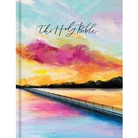 CSB Notetaking Bible: Hosanna Revival Edition, Lake Cloth Over Boards