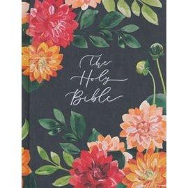 CSB Notetaking Bible: Hosanna Revival Edition, Dahlias Cloth Over Boards