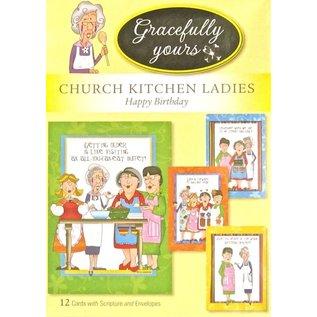Boxed Cards - Birthday: Church Kitchen Ladies