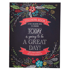 Coloring Book - Today is Going to be a Great Day