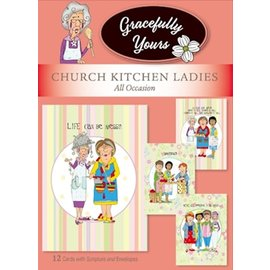 Boxed Cards - All Occasion, Church Kitchen Ladies