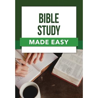 Bible Study Made Easy, Paperback