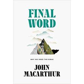 Final Word (John MacArthur), Hardcover