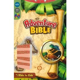NIV Adventure Bible, Coral LeatherLook