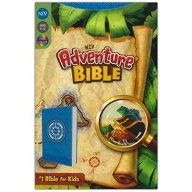 NIV Adventure Bible, Blue LeatherLook