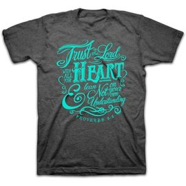 T-Shirt - Trust in the Lord, Gray