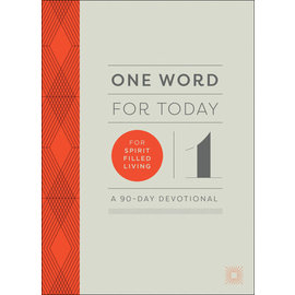 COMING FALL 2021 One Word for Today for Spirit-Filled Living, Hardcover