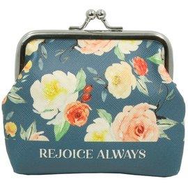 Coin Purse - Rejoice Always