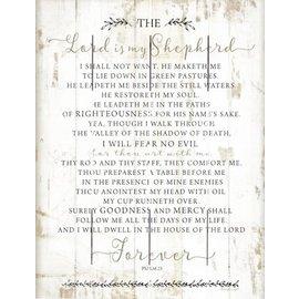 Rustic Pallet Art - The Lord is my Shepherd