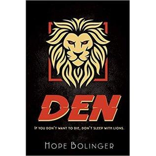 Blaze Trilogy #2: Den (Hope Bolinger), Paperback