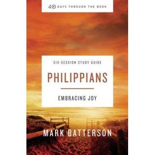 40 Days Through the Book: Philippians (Mark Batterson), Paperback