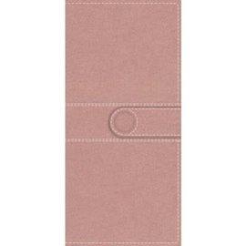 NIV Pocket Thinline Bible, Pink Imitation Leather w/ Snap