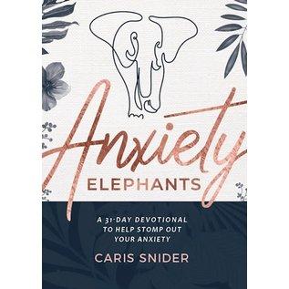 Anxiety Elephants (Caris Snider), Paperback