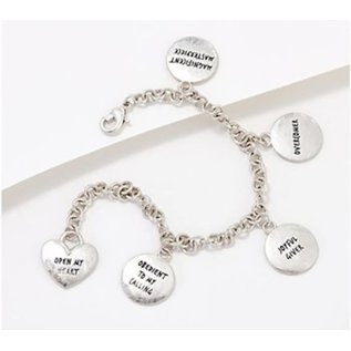 Bracelet - The Famer And The Belle's Divine Beauty Bracelet, 5 Charms