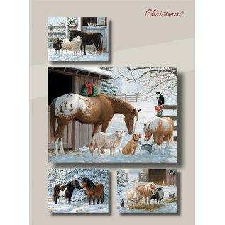 Boxed Christmas Cards - Barnyard Buddies