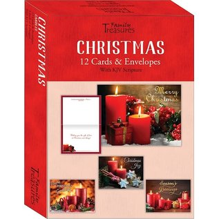 Boxed Christmas Cards - Candles