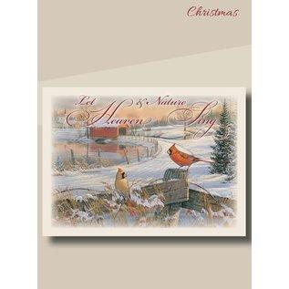 Boxed Christmas Cards - Christmas Cardinals