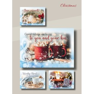 Boxed Christmas Cards - Cup of Joy