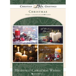 Boxed Christmas Cards - Heartfelt Christmas Wishes
