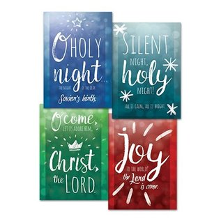 Boxed Christmas Cards - Let Us Adore Him