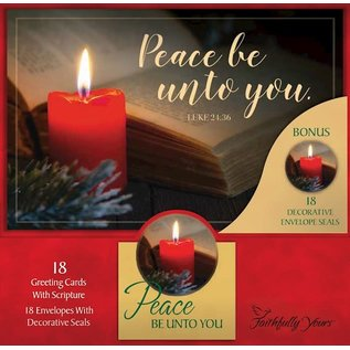 Boxed Christmas Cards - Peace Be Unto You