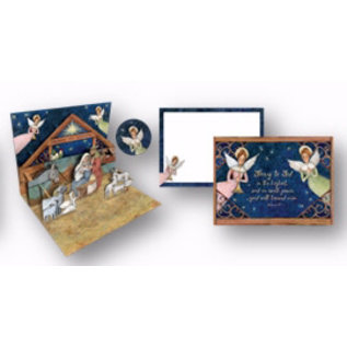 Boxed Christmas Cards - Pop-Up-Nativity