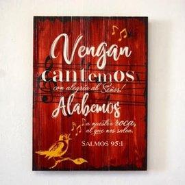 Vengan Cantemos, Cuadro (Spanish Wall Art)