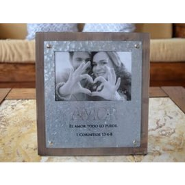Spanish Picture Frame - Amor
