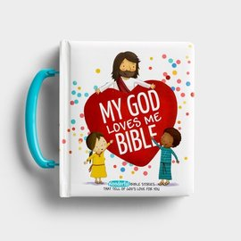 My God Loves Me Bible, Padded Cover with Handle
