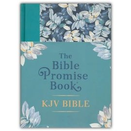 The Bible Promise Book KJV Bible, Tropical Floral Hardcover