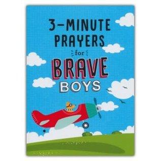 3-Minute Prayers for Brave Boys