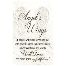 Pocket Card - Angel's Wings Poem