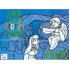 Bible Story Coloring Pages - Easter, Reproducible