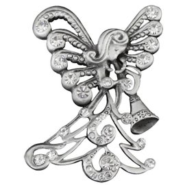 Lapel Pin - Trumpeting Angel