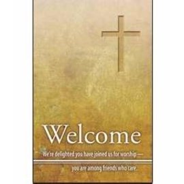 Registration Card - Welcome (Pack Of 25)