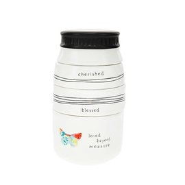 Stackable Measuring Cups - Cherished, Blessed, Loved Beyond Measure