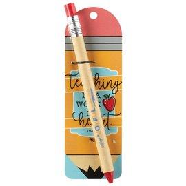 Pen - Teaching is a Work of Heart