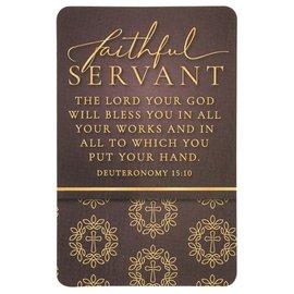 Pocket Card - Faithful Servant