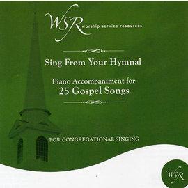 CD - Piano Accompaniment for 25 Gospel Songs