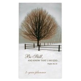 2022-2023 Pocket Planner - Be Still, Tree