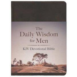 KJV Daily Wisdom for Men Devotional Bible, Hardcover