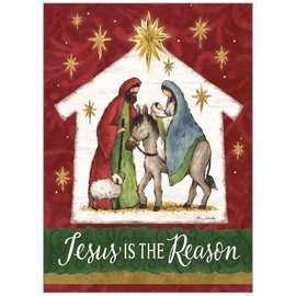 Boxed Christmas Cards - Jesus is the Reason, 20 Count