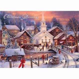 Boxed Christmas Cards - Hope Runs Deep, 20 Count