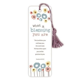 Bookmark - What a Blessing You Are, Tassel